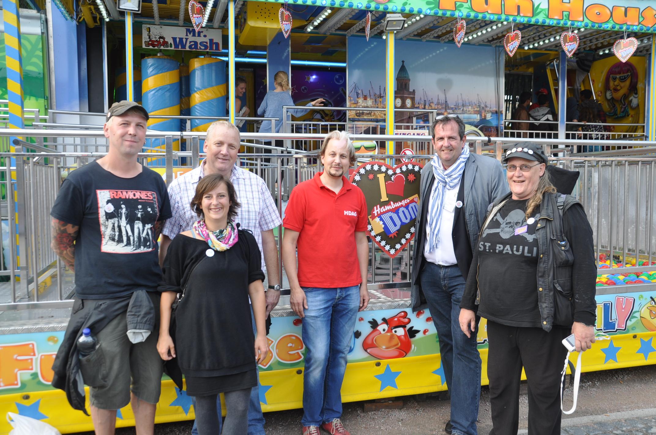 Helfer für Flüchtlingskinder St. Pauli