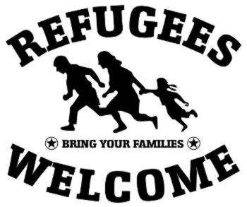 Flüchtlinge willkommen