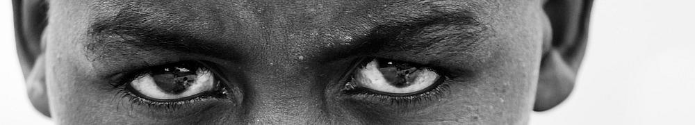 Augen, kritischer Blick