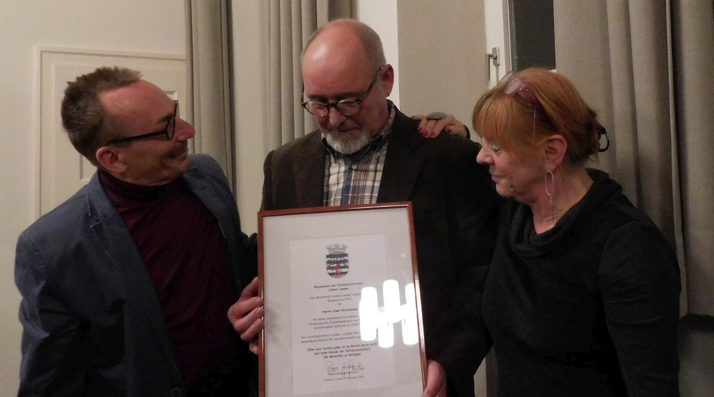 Bürgerpreis Linden-Limmer 2015 Uwe Horstmann für Integration