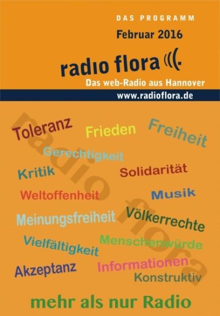 Radio Flora Programmfalter Februar 2016