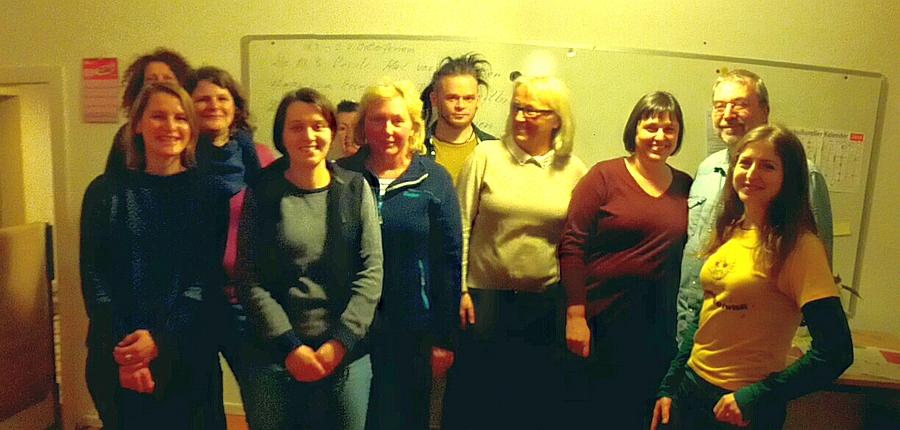 Gruppenbild Sprachkursler