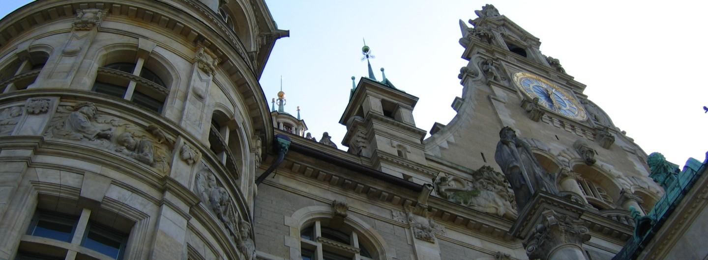 Ausschnitt Fassade Neues Rathaus Hannover